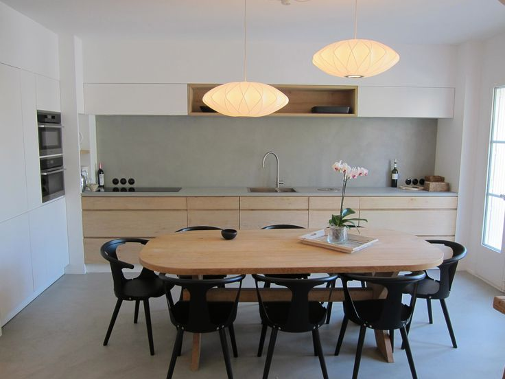 14 best cuisines en béton ciré images on pinterest | concrete ... - Table Salle A Manger Beton Cire