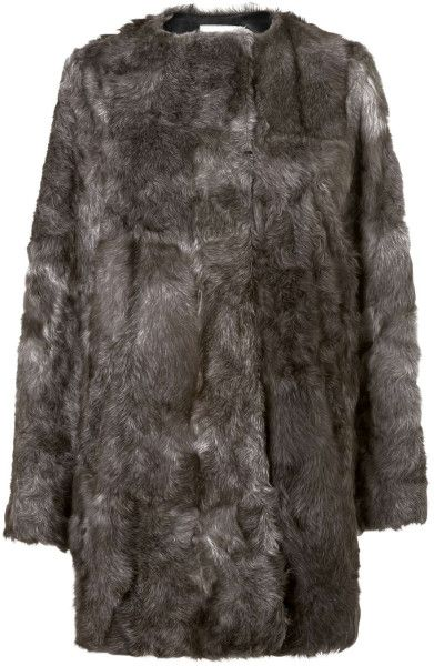 Jaeger Gray Goat Coat