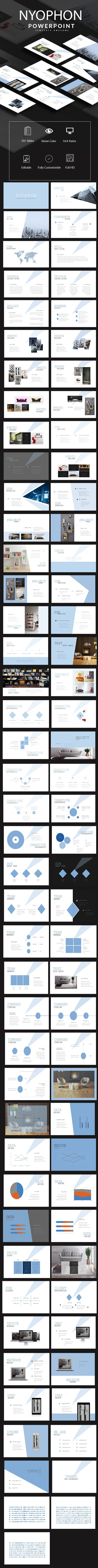 397 best minimal powerpoint template images on pinterest nyophon powerpoint template social media tech download httpsgraphicriver toneelgroepblik Gallery