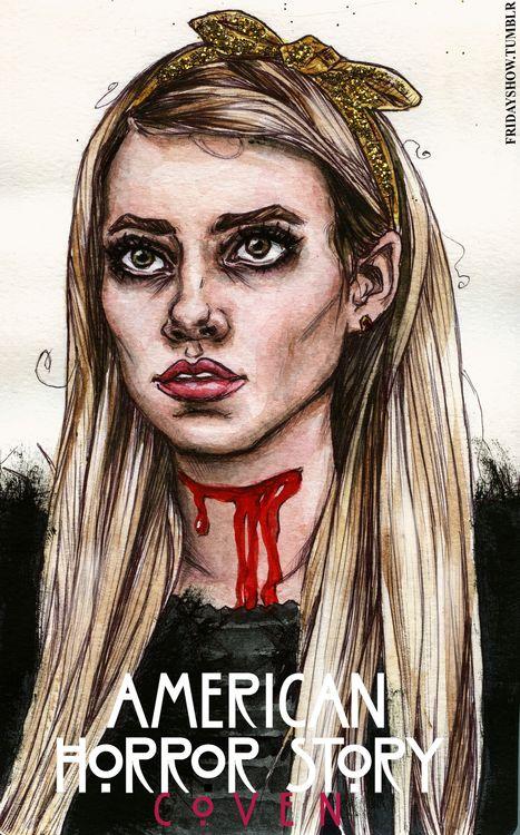 dibujos de american horror story asylum - Buscar con Google