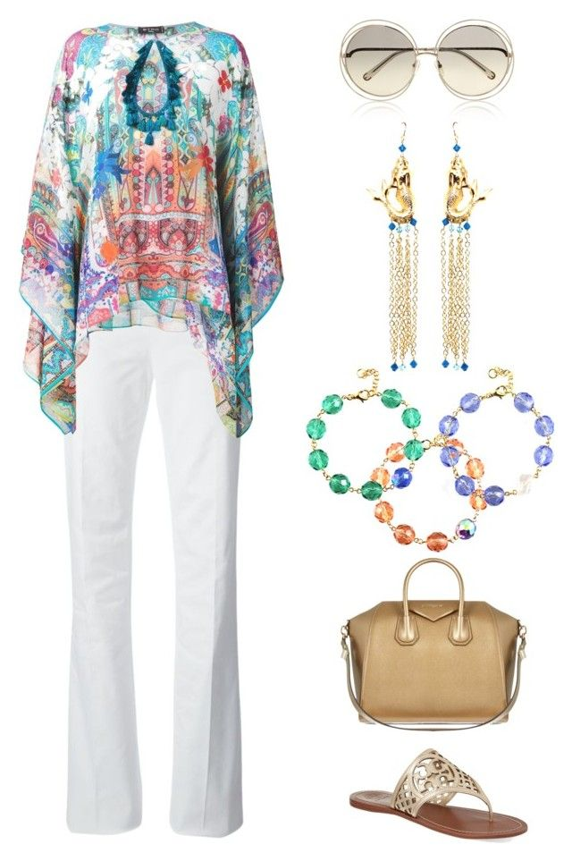 """""""Resort Wear 2015"""" by manictrout ❤ liked on Polyvore featuring Dsquared2, Etro, Chloé, Givenchy and Tory Burch"""