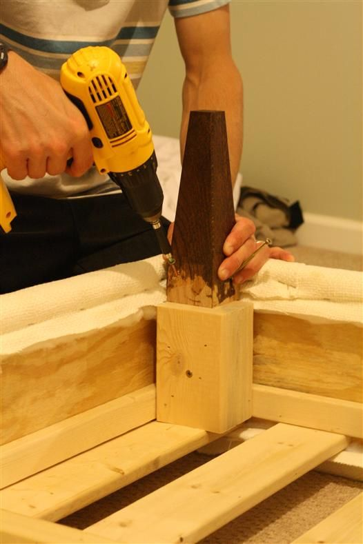 DIY furniture feet