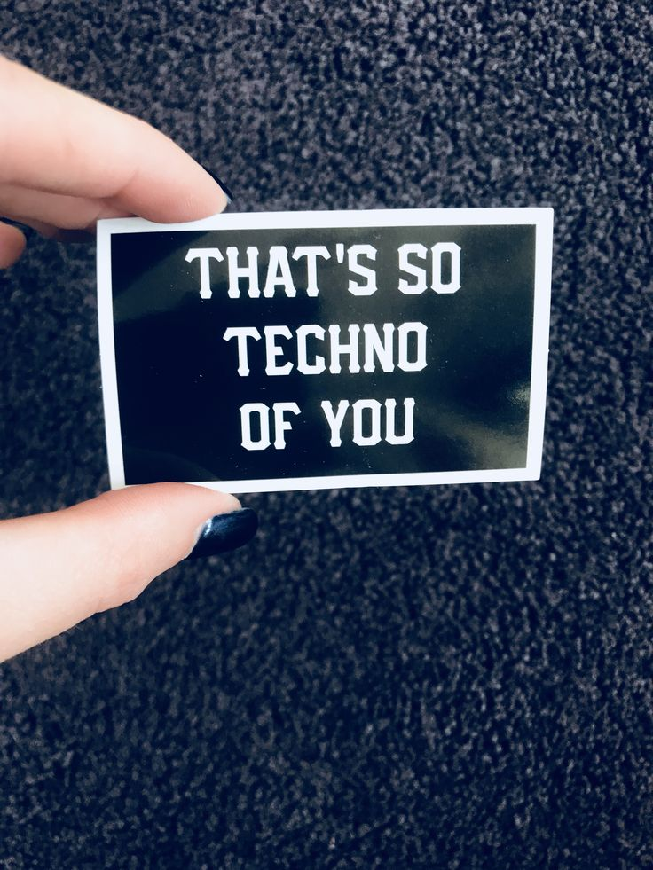 That's so techno of you sticker  Electric forest Rave clothing Rave outfit  Raver  Edm girls Okeechobee Electric daisy carnival EDCLV  Edco Insomniac Dirtybird Camp out