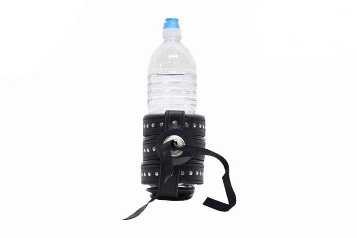 Motorcycle Drink Holder With Concho & Studs - Motorcycle Cup Holder