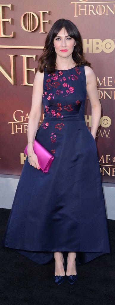 Carice van Houten at the Game of Thrones Season 5 premiere