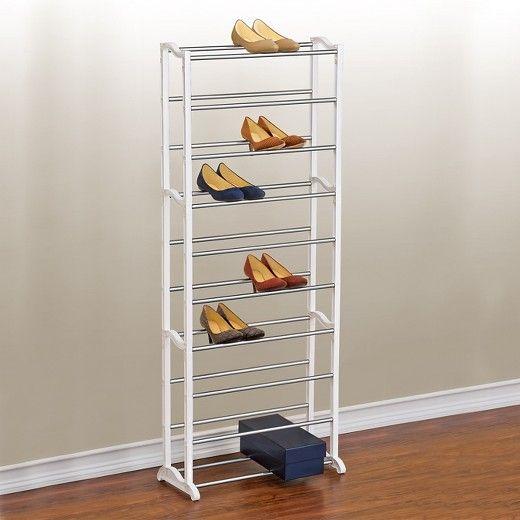 best 25 vertical shoe rack ideas on pinterest wood shoe. Black Bedroom Furniture Sets. Home Design Ideas