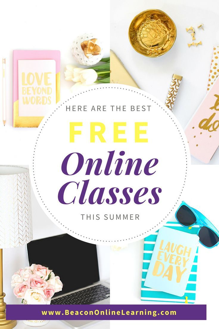 Free Online Learning Summer Fun Class College Articles And
