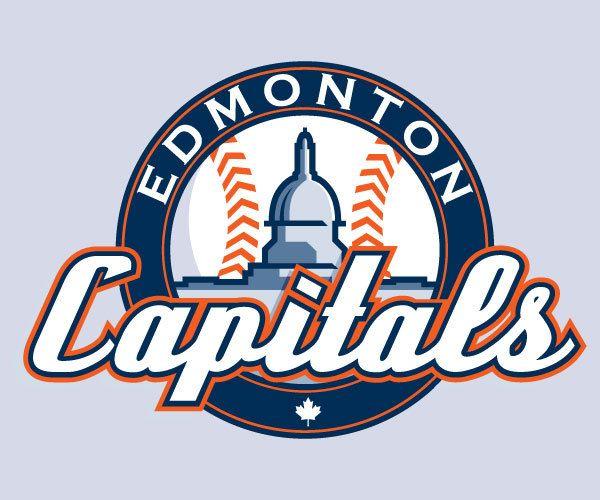 Edmonton Capitals Logo Concept #yeg #baseball #capitals