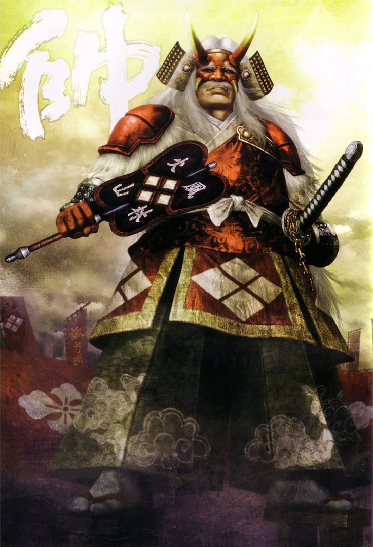Shingen Takeda (Samurai Warriors)