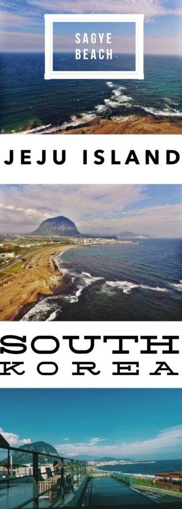 Sagye Beach, South Korea: Best Beach in Jeju Island for a Mt. Sanbangsan View