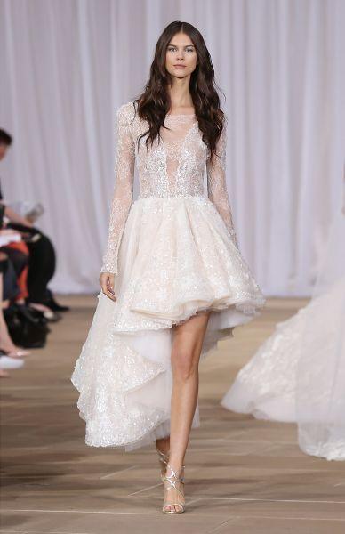 Vestidos de novia cortos 2017: los diseños más TOP. ¡Elige el tuyo! Credits: Ines di Santo