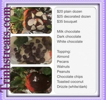 Chocolate Covered Strawberries, Chocolate Covered Strawberries Delivered - Nikki Taylor - Fort Worth, Tx