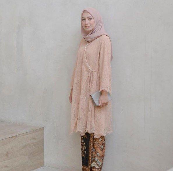 Model Baju Tunik Brokat