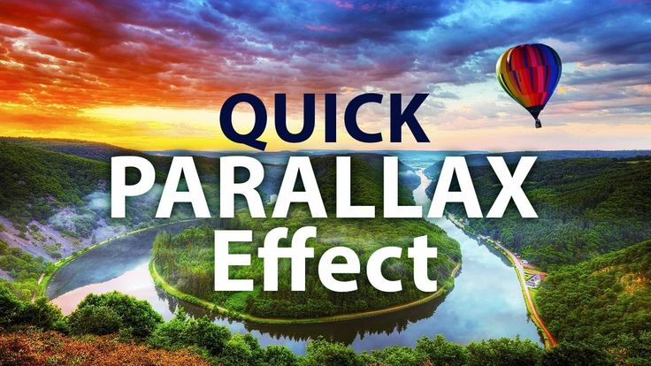 AEplus 014 - How To Make Parallax Photo Effect In After Effects. Quick 2...