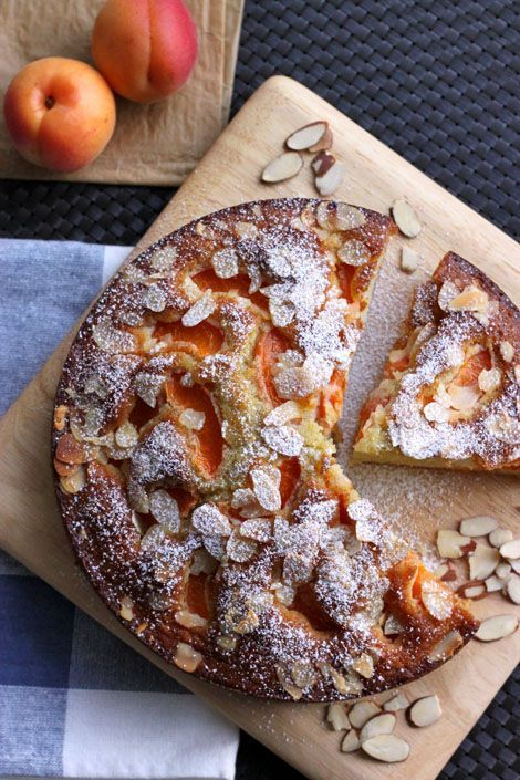 Apricot and Almond Olive Oil Cake
