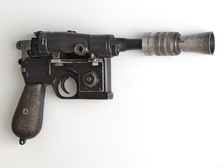 Empire Strikes Back Luke Skywalker blaster.