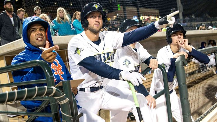 Tim Tebow at Columbia Fireflies game