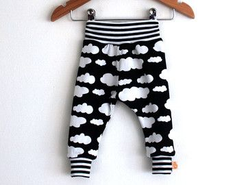 Hipster baby clothes baby boy leggings organic by GALLUSandLASSIE