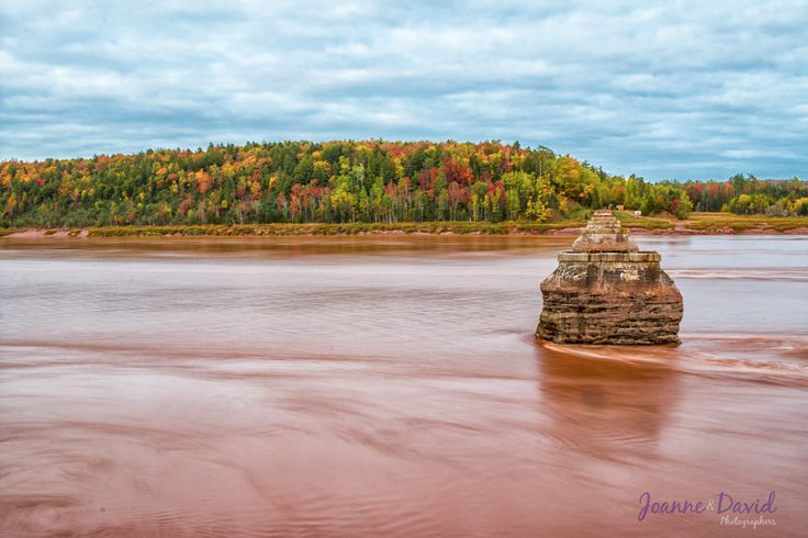 This was a photo that I took last fall at the Fundy Tidal Interpretive Centre of the Shubenacadie River in South Maitland. View more of my Nova Scotia Landscapes on our website - http://bit.ly/1vvqiv3 - David