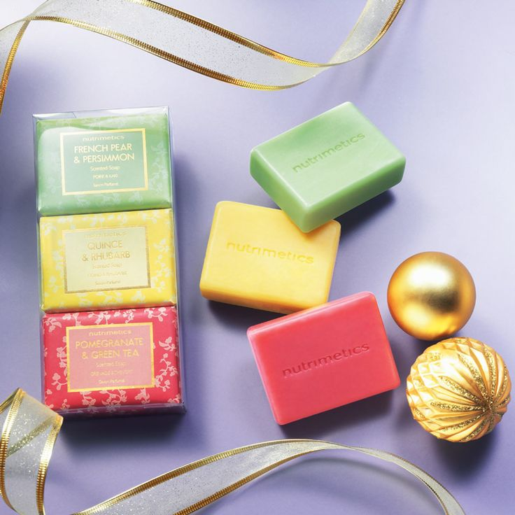 Scented Soaps Set 100g each