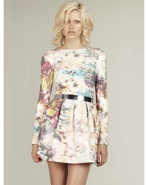 Dress - Talulah - Take A Chance - aw13 - Racewear - Floral - $189.90
