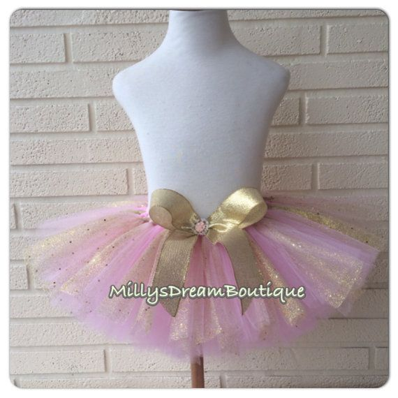 Hey, I found this really awesome Etsy listing at https://www.etsy.com/listing/195354674/royal-princess-gold-pink-tutu