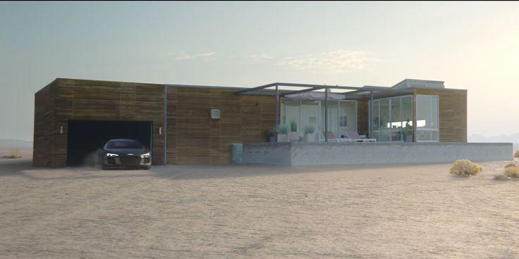 Audi a Airbnb ti ponúkajú šialený dom v Údolí smrti a spolu s tým aj skvelú…