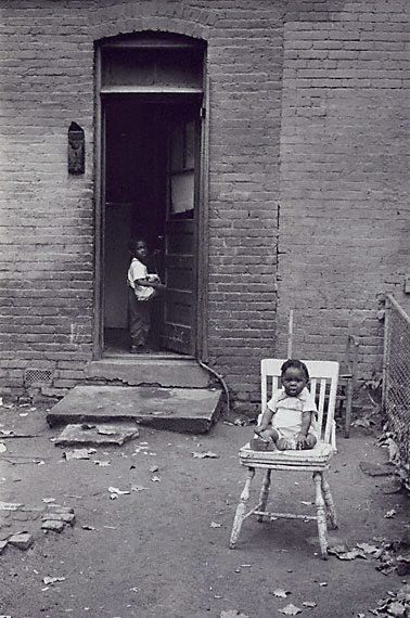 by David Moore (1927-2003) - Negro Tenement, Washington DC 1956.