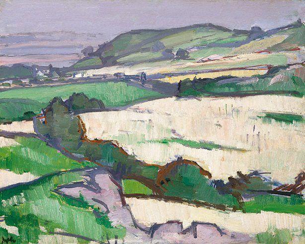 'Douglas Hall, Dumfries', 1918 - Samuel John Peploe