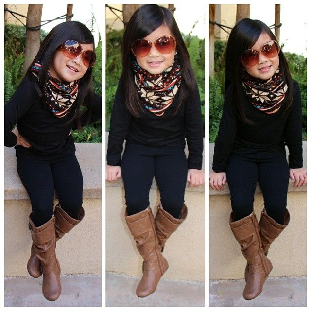 Oh my goodness... That's probably what my child is going to look like... A cute little diva lol