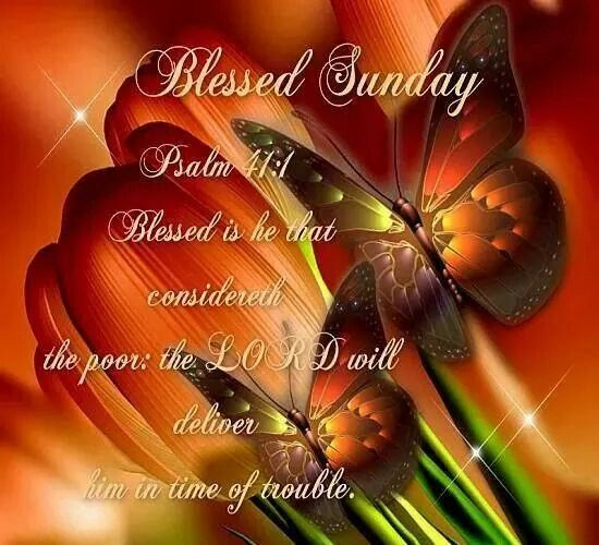 Psalm 41:1 [Blessed Sunday]