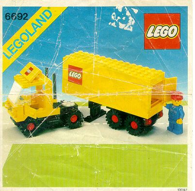 City - Tractor Trailer [Lego 6692]