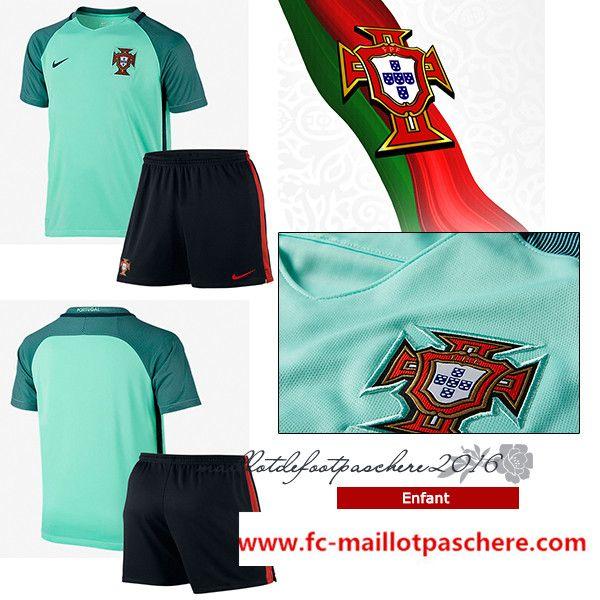 maillot Portugal 2016 enfant extérieur uefa euro en ligne
