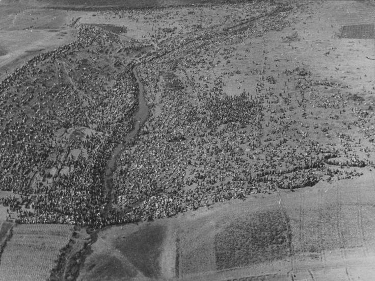 Советские военнопленные под Харьковом 1942 г