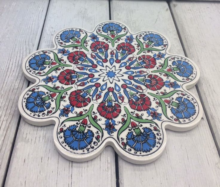 TURKISH CERAMIC TRIVET