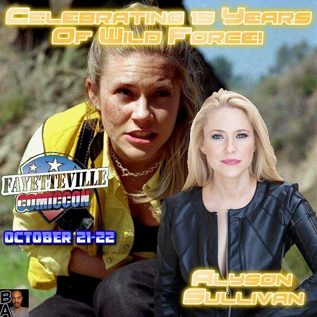 Come on out and Celebrate 15 Years of Power Rangers Wild Force with @alysonkipermansullivan. It's happening at Fayetteville North Carolina October 21-22.  #crownexpocenter #beatmaticsupports #trentonnjpromoter #powerrangers #powerrangerswildforce #Wildforce  #soaringeagle #eagle #orgs #wildaccess #flyingabovetheclouds #yellowranger #alysonsullivan #alysonkipermansullivan #expocenter #expo #fayeteville #femalepower #northcarolina #coliseum #conferencecenter #yellowpowerranger…