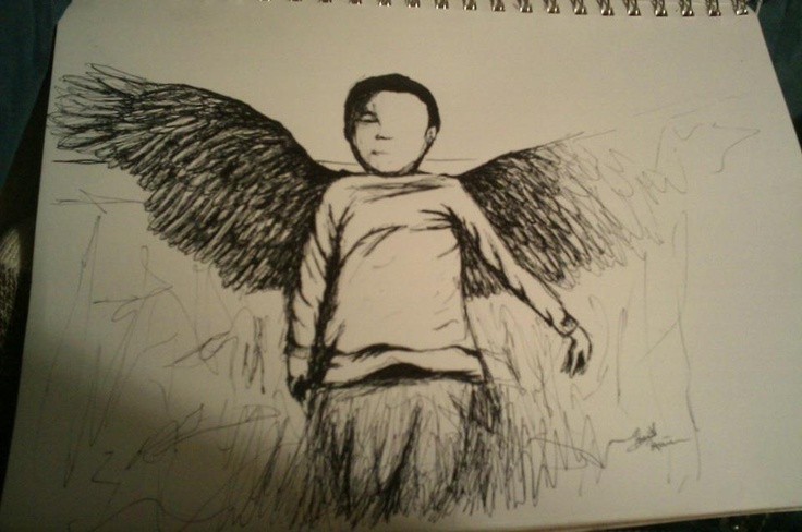 Boy Angel. Pen