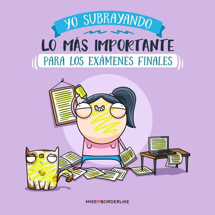 Yo subrayando los más importante para los exámenes finales... #frases #humor #graciosas #divertidas #funny #examenes #selectividad