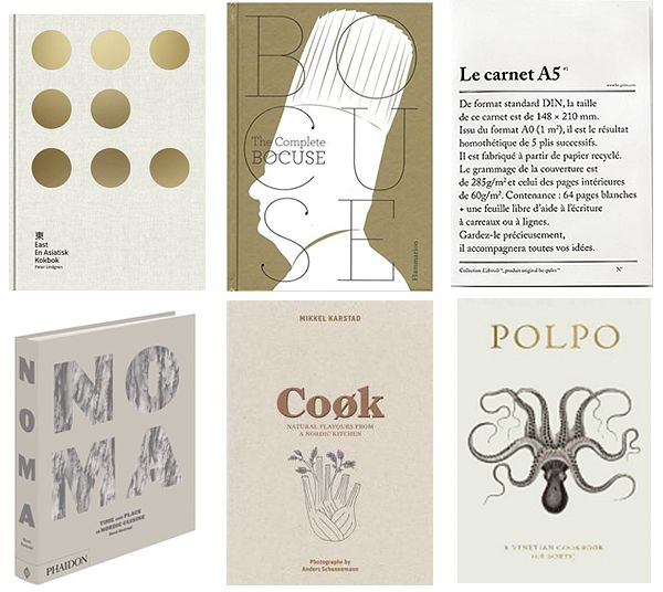 Guide to Stylish Books for your Kitchen / Nordic Chefs / More info can be found on Trendenser.se (interior blog)