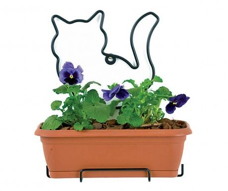 Jardiniera cu tavita si suport Nature Line Cat