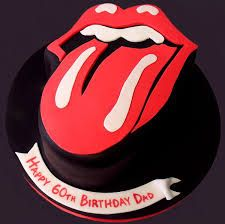 rolling stone cake - Google Search