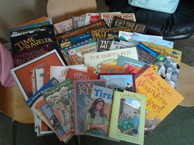 Story of the World matched with Egermeier's Children's Bible and Supplemental Reading List