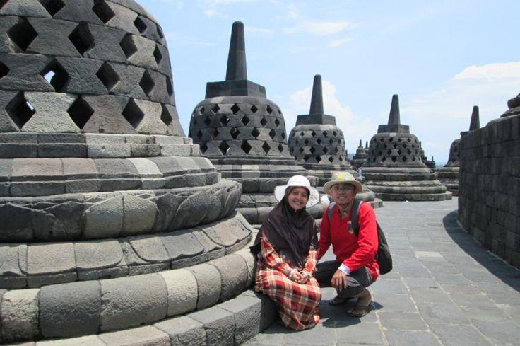 Jalan-jalan Bareng Istri ke Candi Borobudur