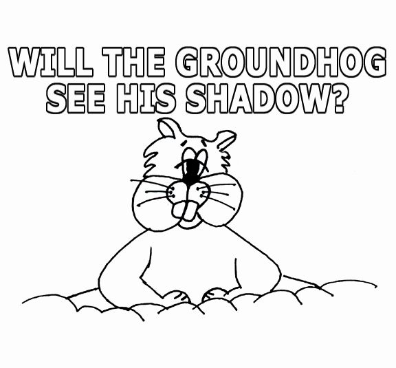 Ground Hog Day Coloring Page Lovely Groundhog Day Activities For Kids Super Coloring Pages Groundhog See His Shadow Printable Coloring Pages