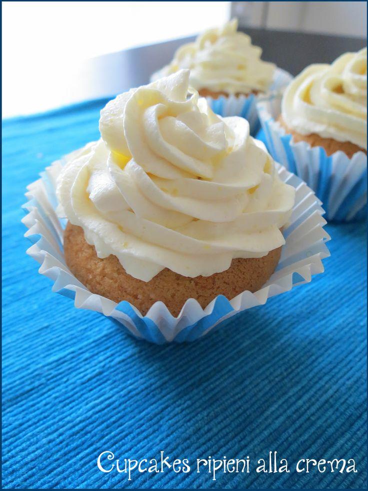 Cupcakes ripieni alla crema