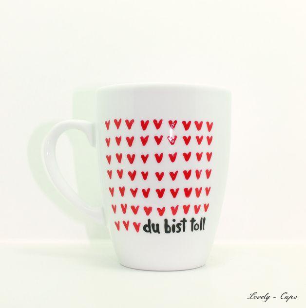 *♥Lovely-Cups♥ der liebenswerte Tassen Shop bietet an:*  ♥Tasse mit Spruch♥ Tasse mit Name♥ ♥personalisierte Tasse ♥  *DIE LIEBES TASSE   Geschenk Tasse mit Herz, die Liebes Tasse mit Spruch...