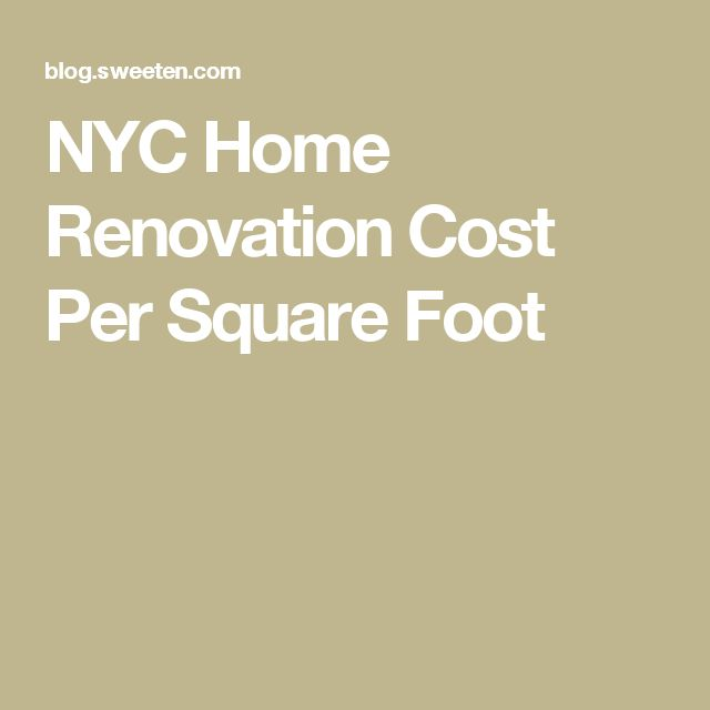25 best ideas about home renovation costs on pinterest for New home cost per square foot