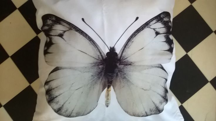 Butterfly Natural History Cushion Cover and Inner, Decorative Pillow, Chair Cushion, Garden Seat Pad, Insect Art, Taxidermy Butterfly by VintiqueInterior on Etsy https://www.etsy.com/listing/267458200/butterfly-natural-history-cushion-cover