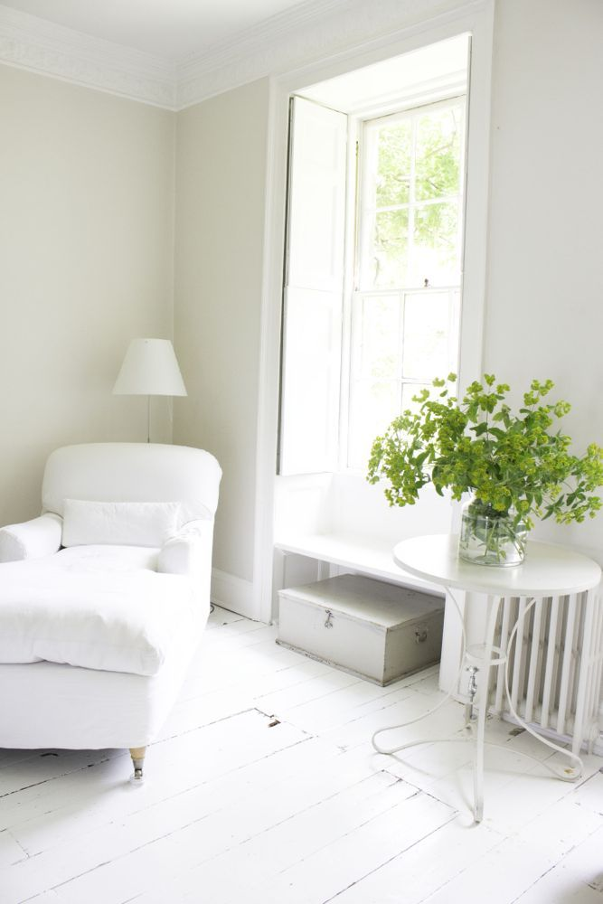 Cloud Like Country French Nordic White Interiors Shabby Chic Interiors White Painted Floors Chic Interior Design