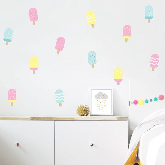 1000 ideas sobre calcoman as para la habitaci n del beb for Calcomanias pared